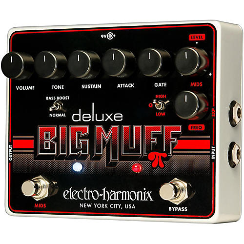 Electro-Harmonix Deluxe Big Muff Pi Sustain Guitar Effects Pedal thumbnail