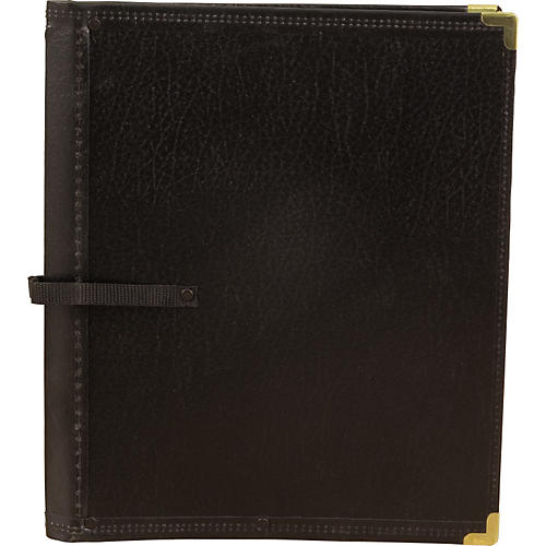Deer River Deluxe Black Choral Folio with Hand Strap thumbnail