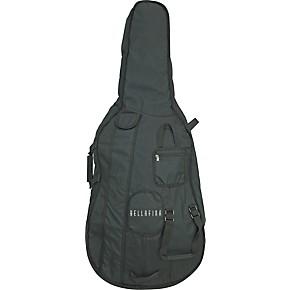 Deluxe 20mm Thick Cello Bag 1//2 Heavy Duty Zipper