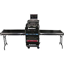 Odyssey Deluxe Dual Table Glide Style Combo Rack