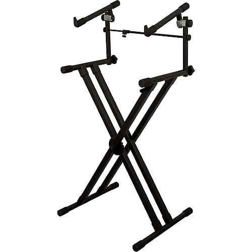 On-Stage Deluxe Heavy Duty X 2-Tier Keyboard Stand thumbnail
