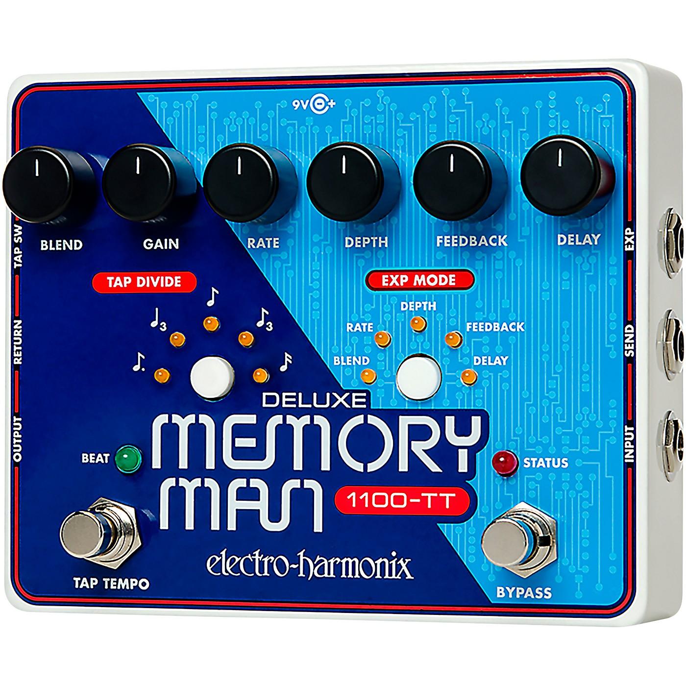 Electro-Harmonix Deluxe Memory Man 1100-TT Guitar Effects Pedal thumbnail