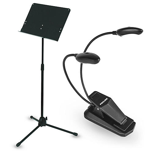 Musician's Gear Deluxe Music Stand & LED Light Combo thumbnail
