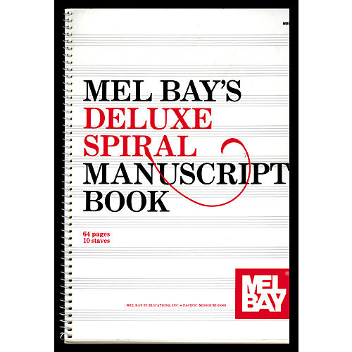 Mel Bay Deluxe Spiral Bound Manuscript Book thumbnail