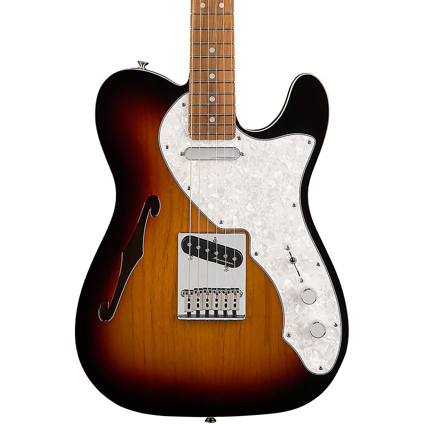 Fender Deluxe Telecaster Thinline Pau Ferro Fingerboard Electric Guitar thumbnail