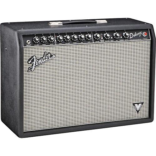 Fender Deluxe VM 40W 1x12 Tube Guitar Combo Amp-thumbnail