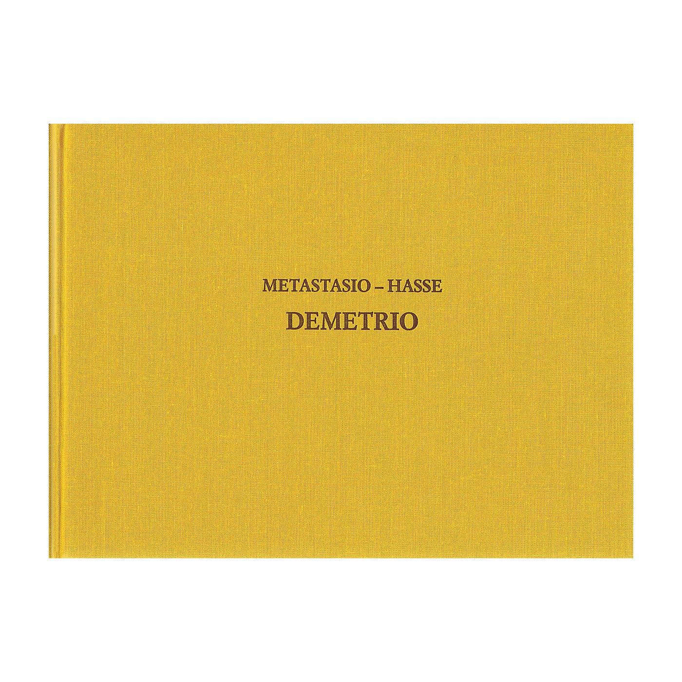 Ricordi Demetrio - Drammaturgia Musicale Veneta 17 CRITICAL EDITIONS Hardcover by Hasse Edited by Reinhard Strohm thumbnail