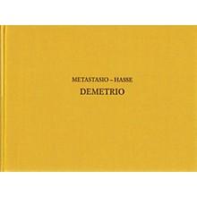 Ricordi Demetrio - Drammaturgia Musicale Veneta 17 CRITICAL EDITIONS Hardcover by Hasse Edited by Reinhard Strohm