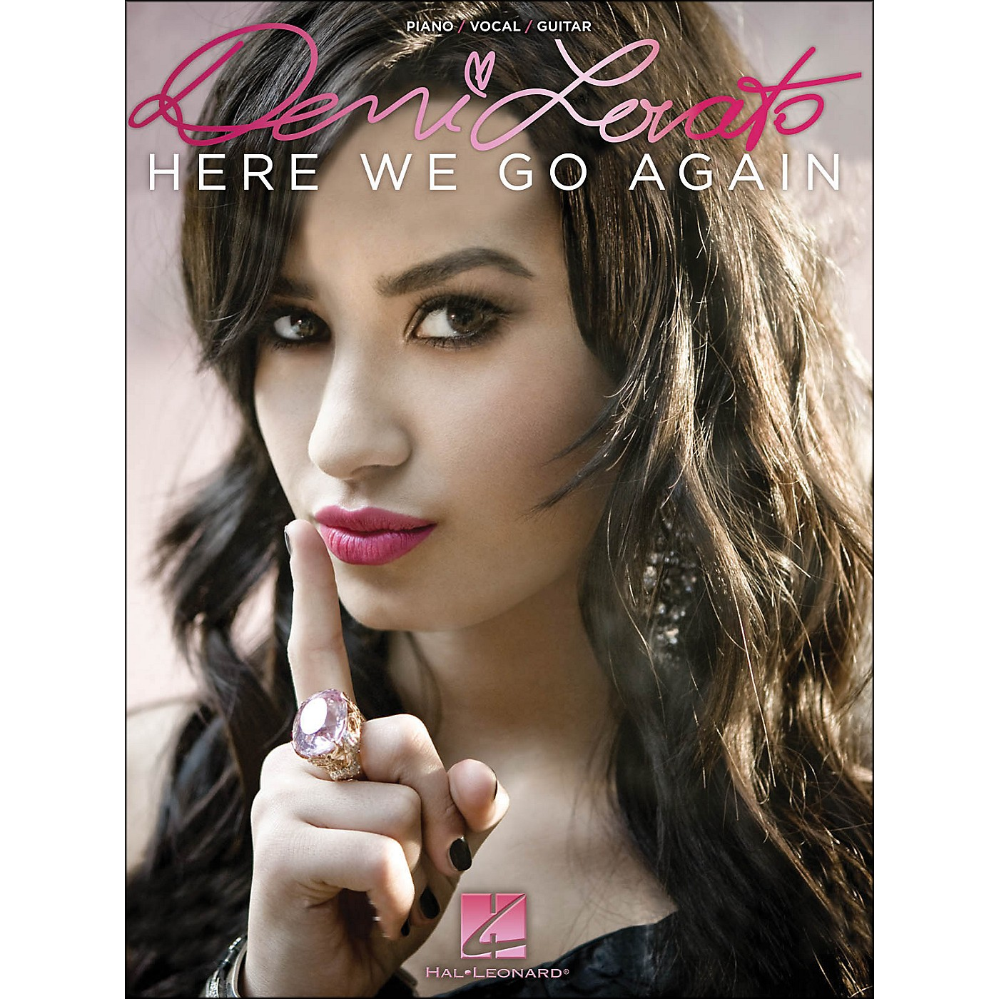 Hal Leonard Demi Lovato - Here We Go Again arranged for piano, vocal, and guitar (P/V/G) thumbnail