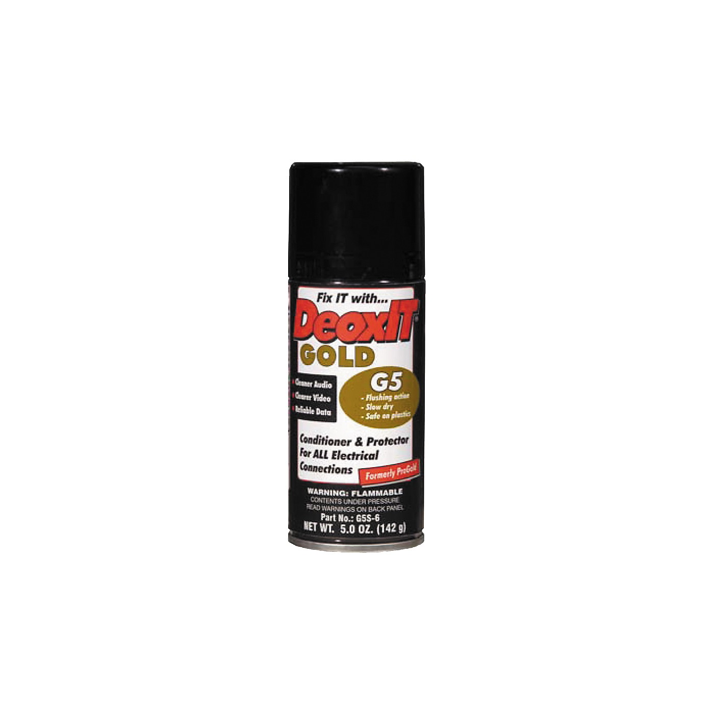 CAIG DeoxIT Gold G5 Spray Contact Conditioner 5 oz. thumbnail