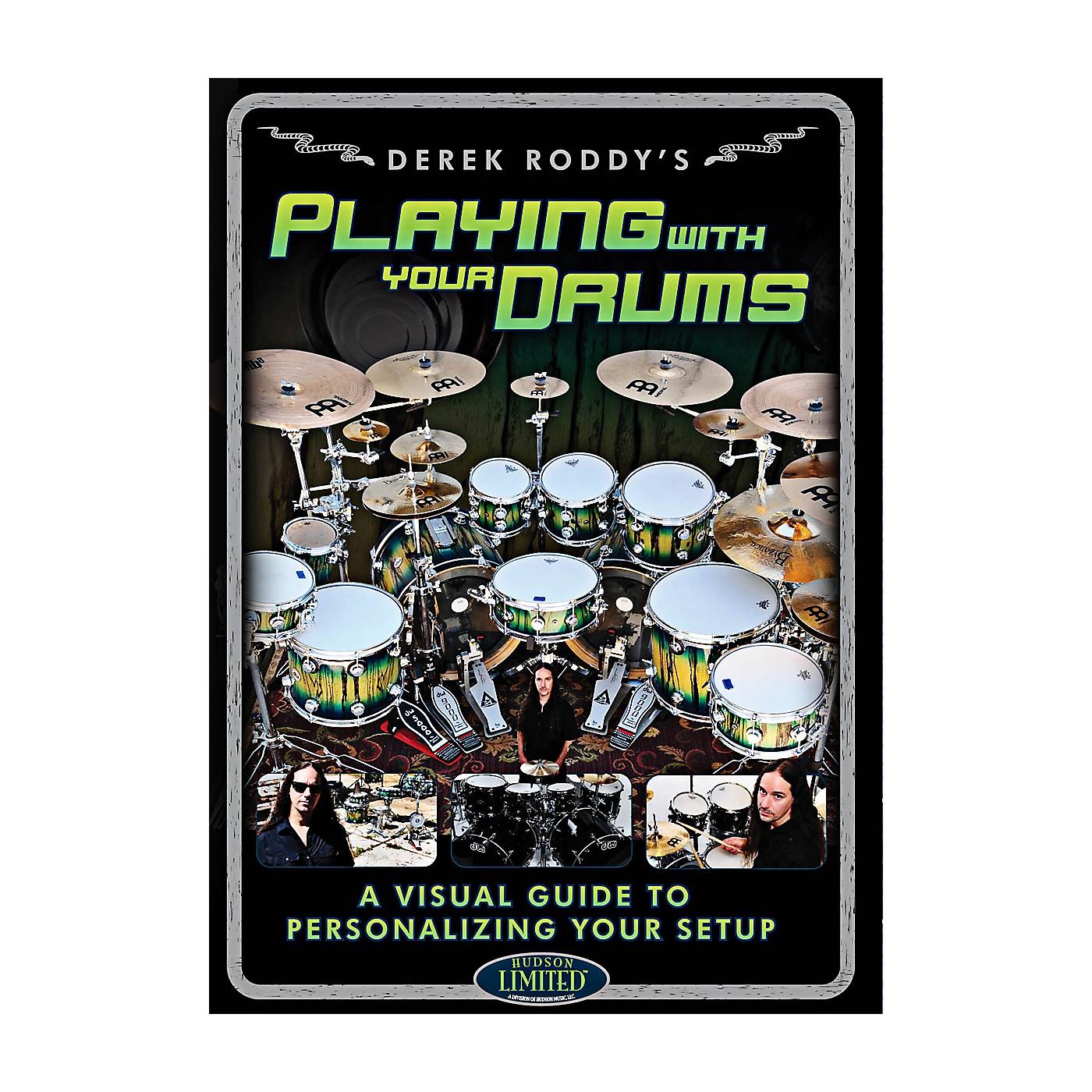 Hudson Music Derek Roddy - Playing With Your Drums DVD thumbnail