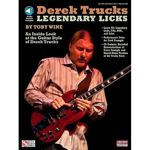 Cherry Lane Derek Trucks Legendary Licks Book/CD-thumbnail