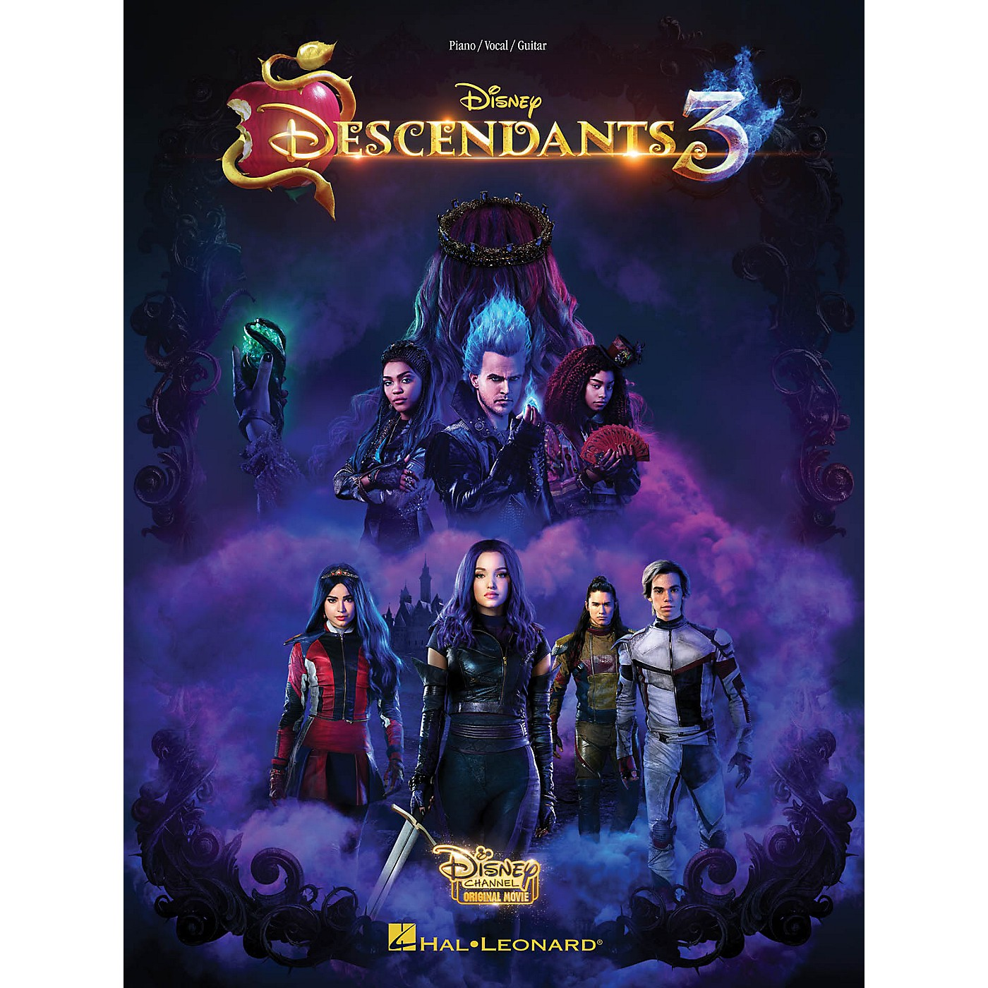 Hal Leonard Descendants 3 (Music from the Disney Channel Original Movie) Piano/Vocal/Guitar Songbook thumbnail