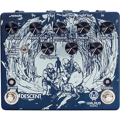 Walrus Audio Descent Reverb/Octave Machine thumbnail