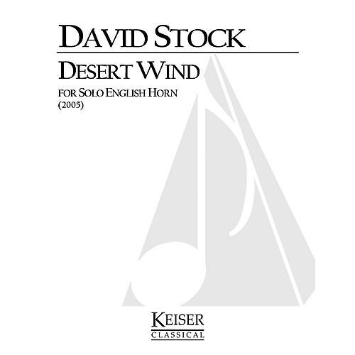 Lauren Keiser Music Publishing Desert Wind for Solo English Horn LKM Music Series thumbnail