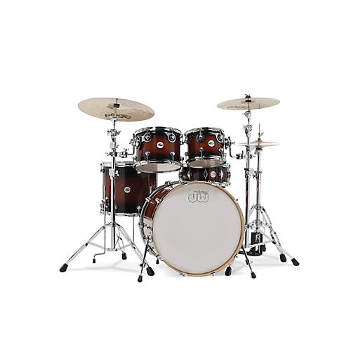 DW Design Series 5-Piece Lacquer Shell Pack with Chrome Hardware thumbnail