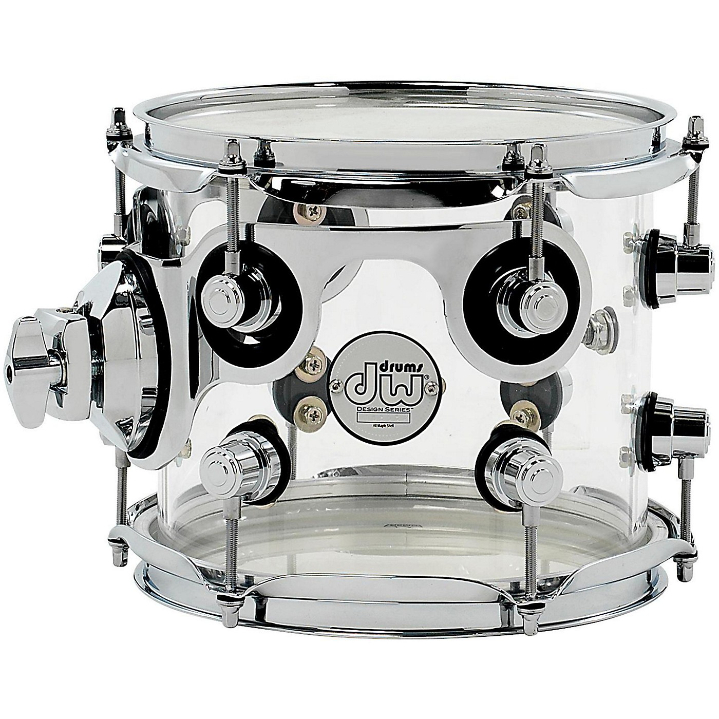 DW Design Series Acrylic Tom with Chrome Hardware thumbnail