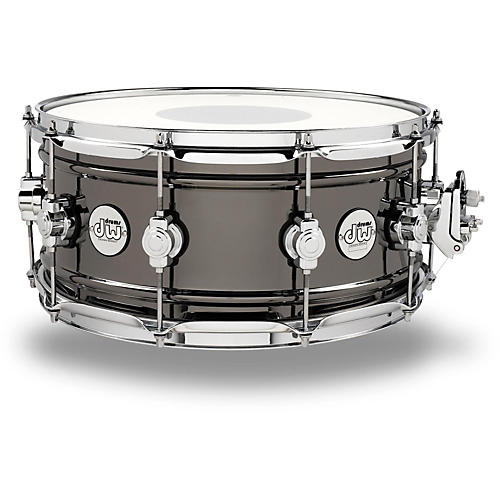 DW Design Series Black Nickel over Brass Snare Drum thumbnail
