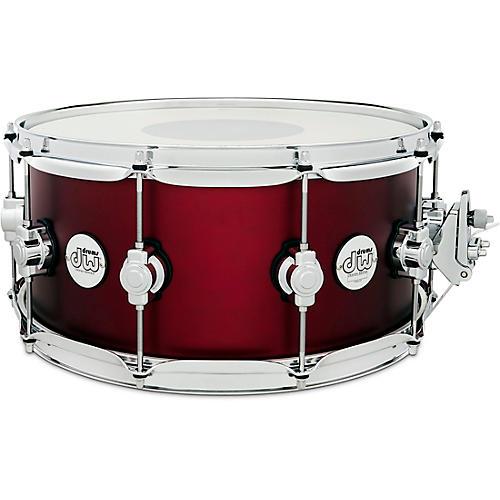 DW Design Series Maple Snare Drum, Chrome Hardware thumbnail