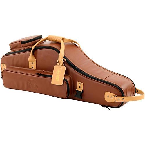 Gard Brown Black Designer Leather Tenor Saxophone Gig Bag - Woodwind ... 310e94abb187e