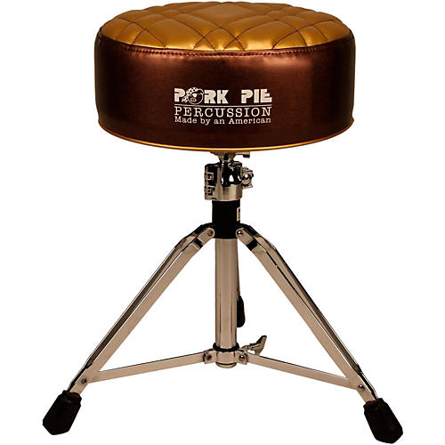 Pork Pie Deuce Half Tuck Round Drum Throne thumbnail