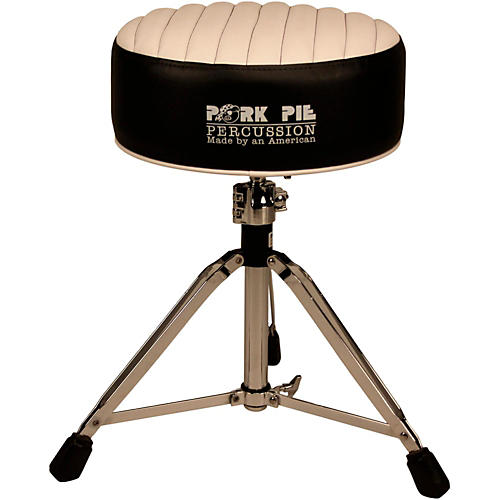 Pork Pie Deuce Tuck and Roll Round Drum Throne thumbnail