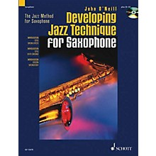 Schott Developing Jazz Technique for Saxophone (The Jazz Method) Schott Series Book with CD