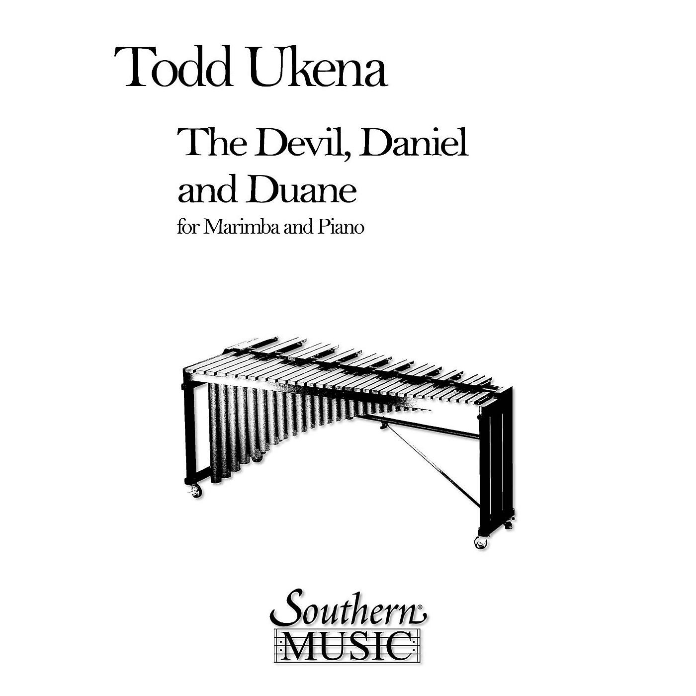 Hal Leonard Devil, Daniel And Duane, The (Percussion Music/Mallet/marimba/vibra) Southern Music Series by Ukena, Todd thumbnail