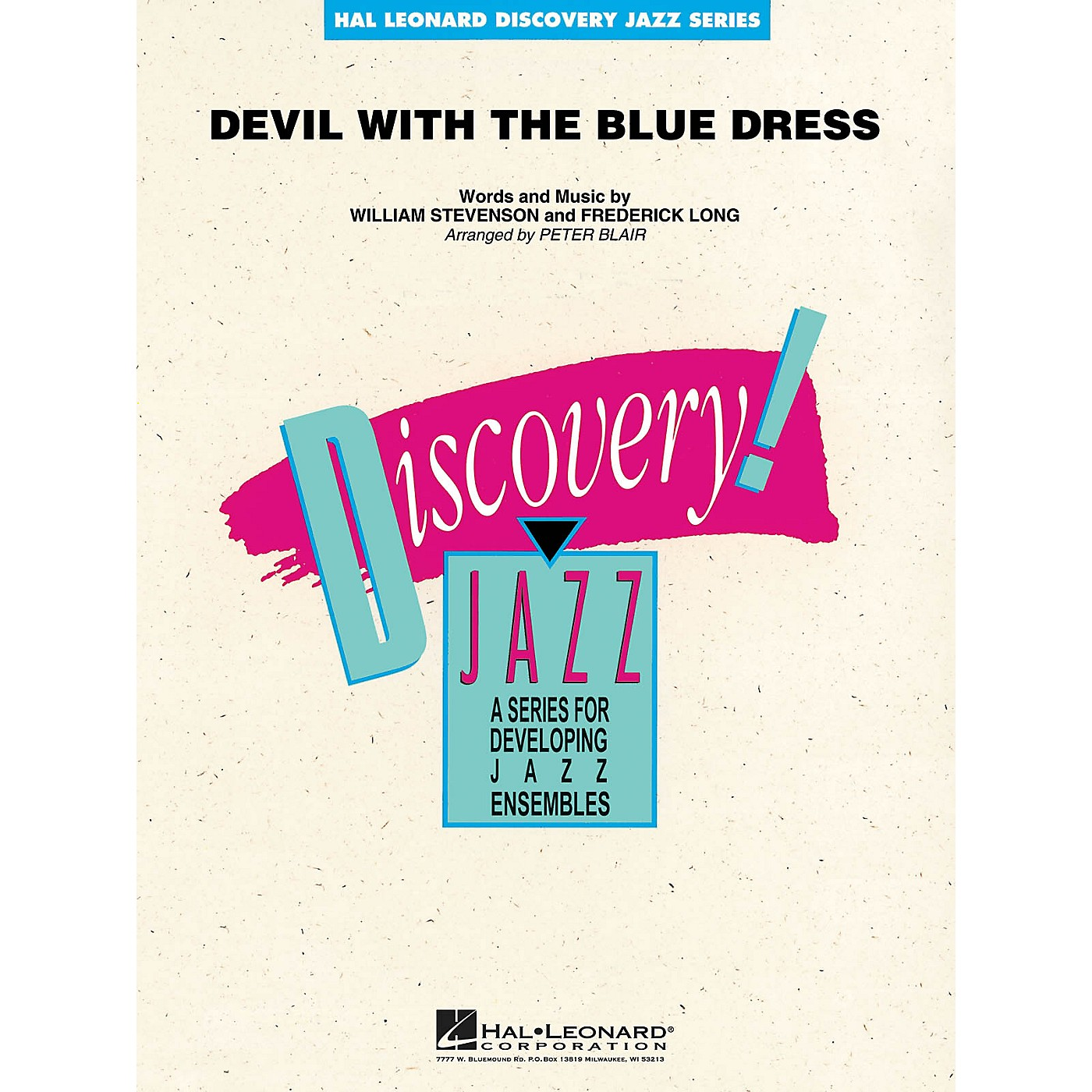 Hal Leonard Devil with the Blue Dress Jazz Band Level 1-2 Arranged by Peter Blair thumbnail