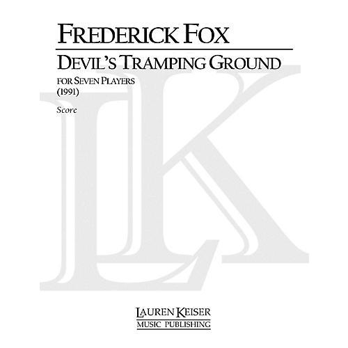 Lauren Keiser Music Publishing Devil's Tramping Ground LKM Music Series Composed by Frederick Fox thumbnail