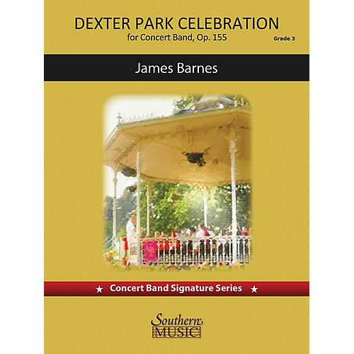 Southern Dexter Park Celebration (for Concert Band, Op. 155) Concert Band Level 4 composed by James Barnes thumbnail