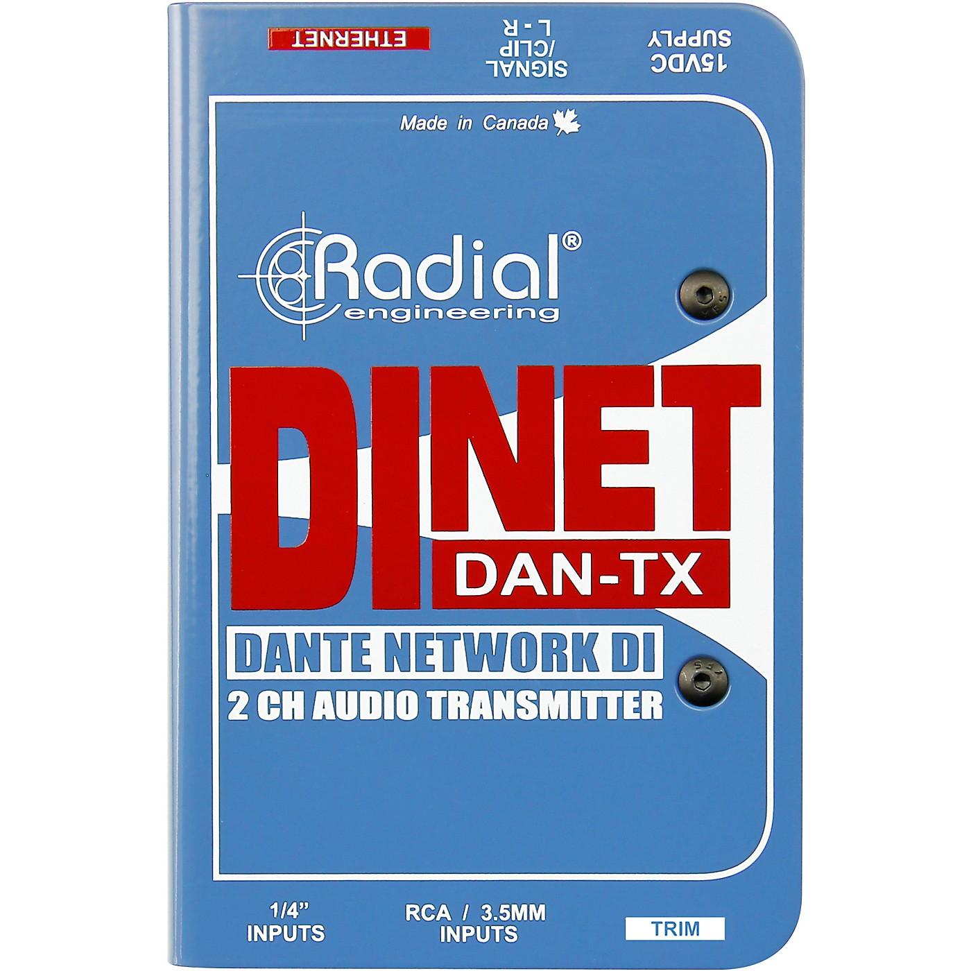 Radial Engineering DiNET DAN-TX Direct Box thumbnail