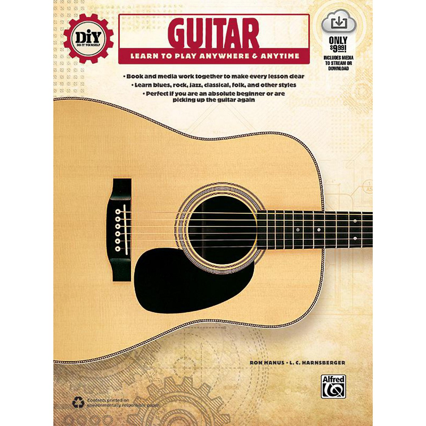 Alfred DiY (Do it Yourself) Guitar Book & Streaming Video thumbnail