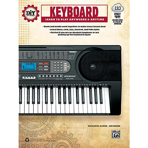 Alfred DiY (Do it Yourself) Keyboard Book & Streaming Video thumbnail
