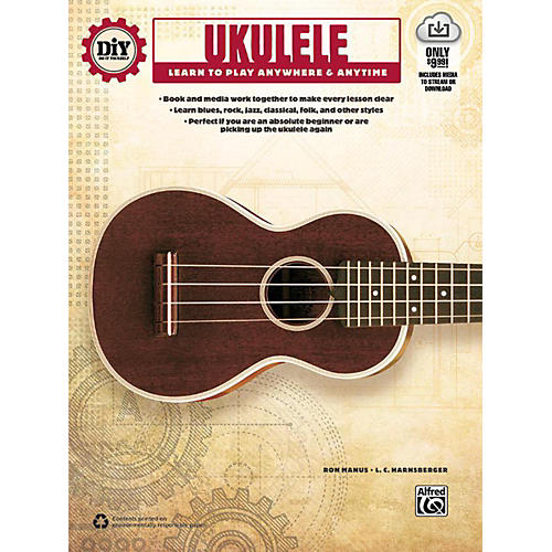 Alfred DiY (Do it Yourself) Ukulele Book & Streaming Video-thumbnail