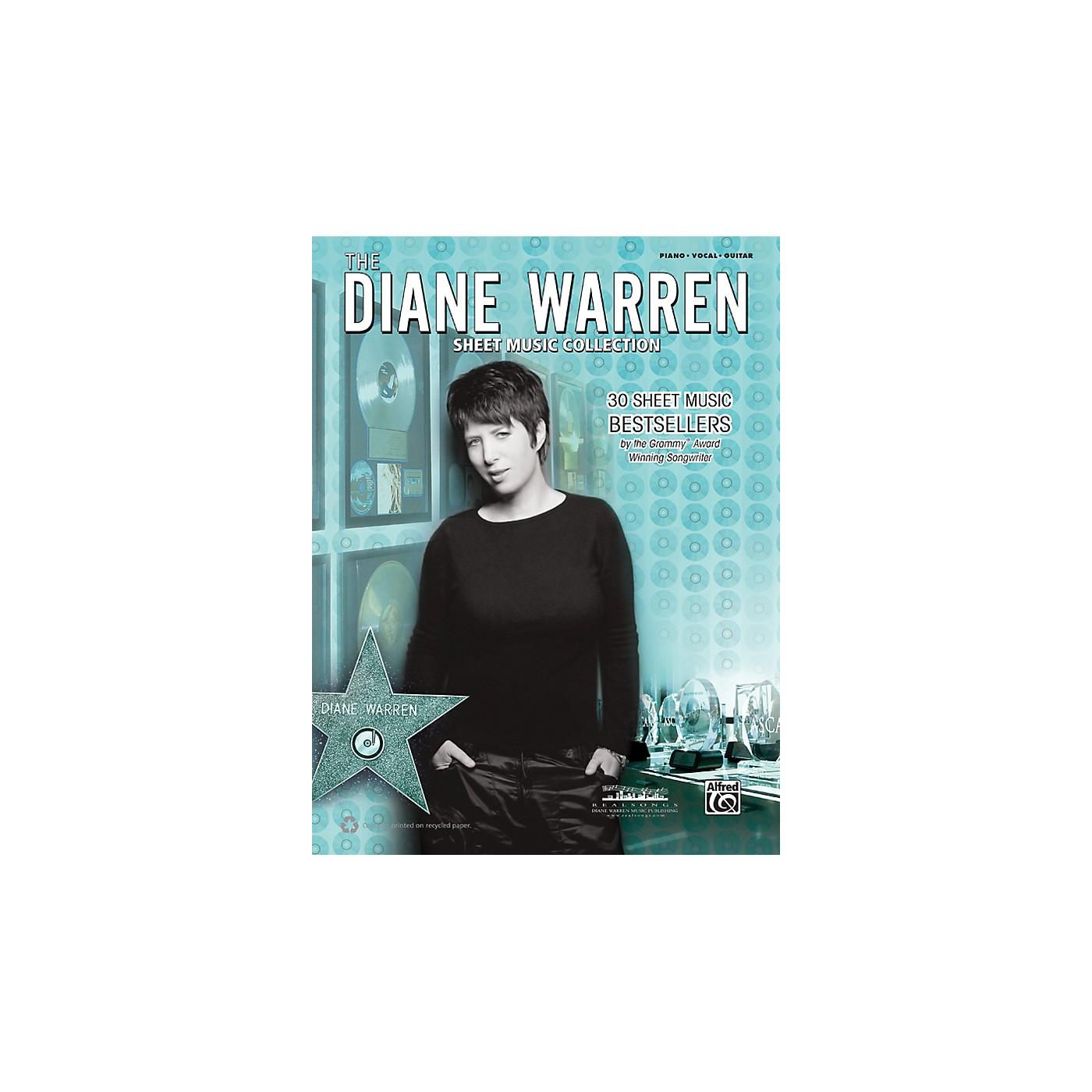 Alfred Diane Warren - Sheet Music Collection Book thumbnail