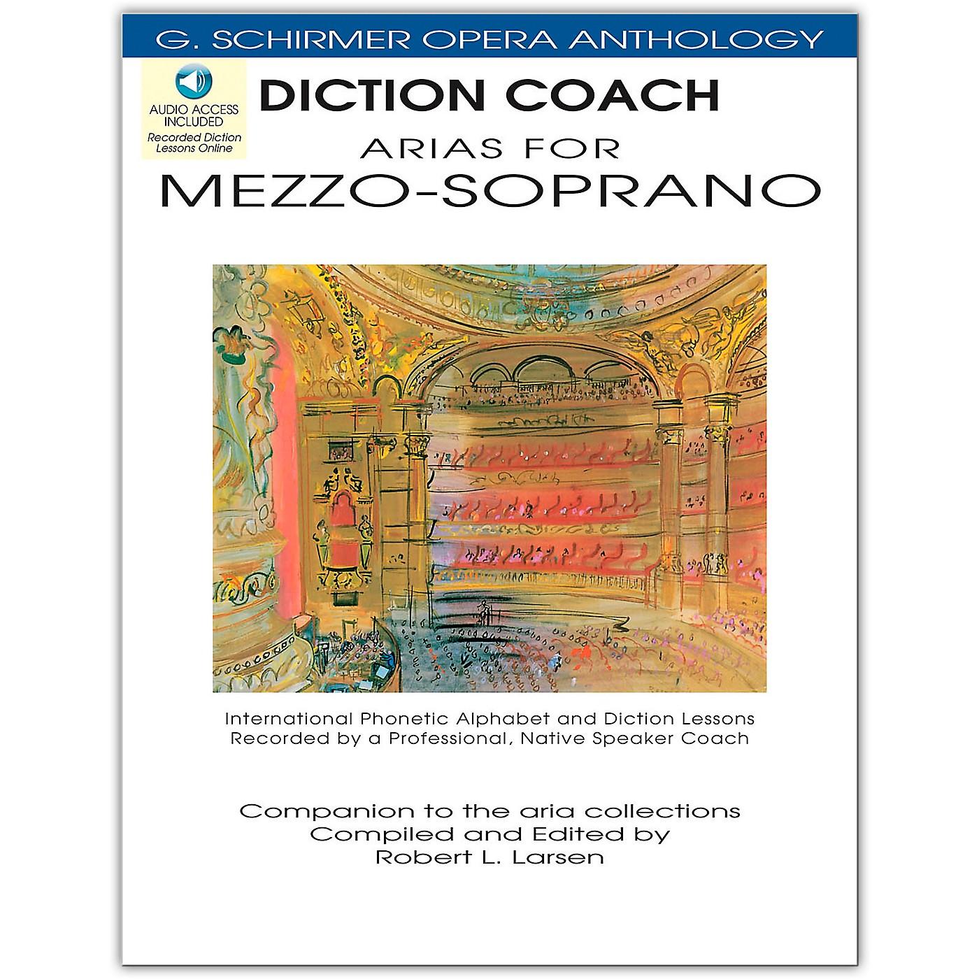 G. Schirmer Diction Coach - Arias for Mezzo-Soprano G. Schirmer Opera Anthology Book/Online Audio thumbnail