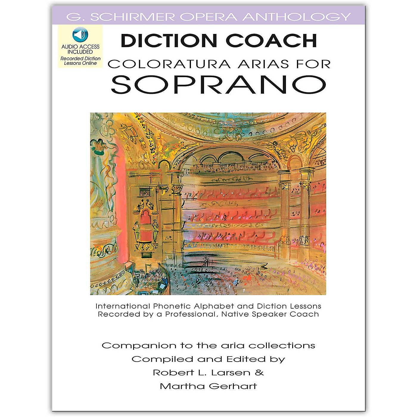 G. Schirmer Diction Coach - Coloratura Arias for Soprano G. Schirmer opera Anthology Book/Online Audio thumbnail