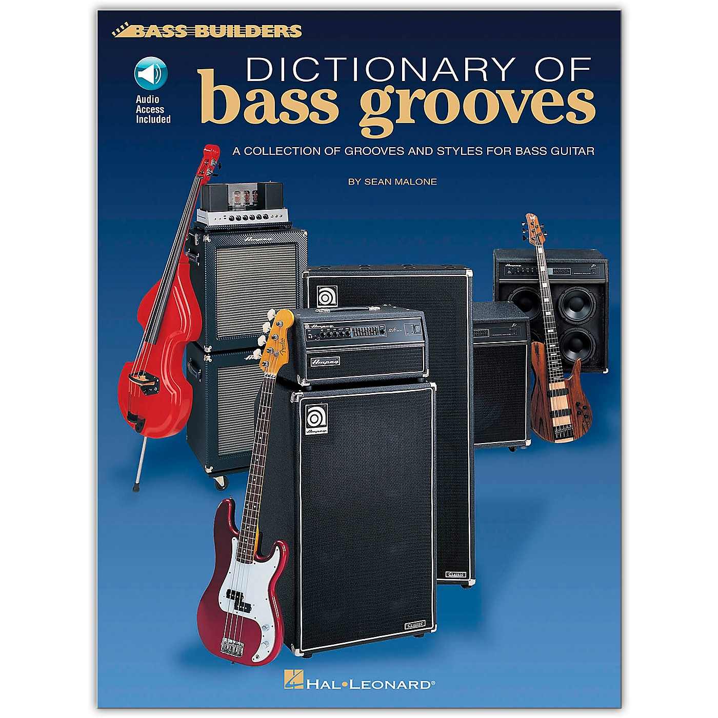 Hal Leonard Dictionary of Bass Grooves (Book/Online Audio) thumbnail