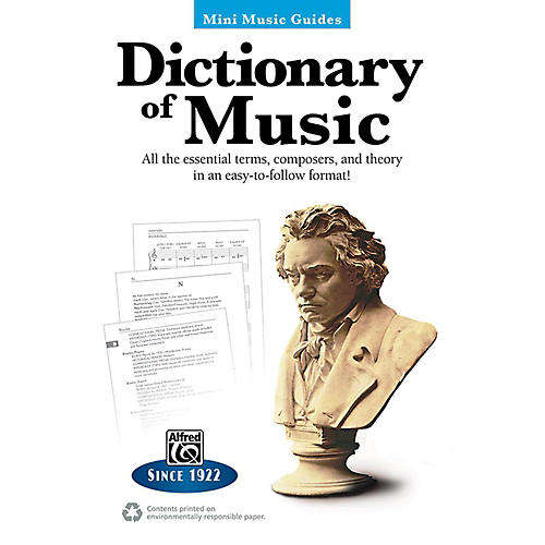 Alfred Dictionary of Music Mini Music Guides Book thumbnail