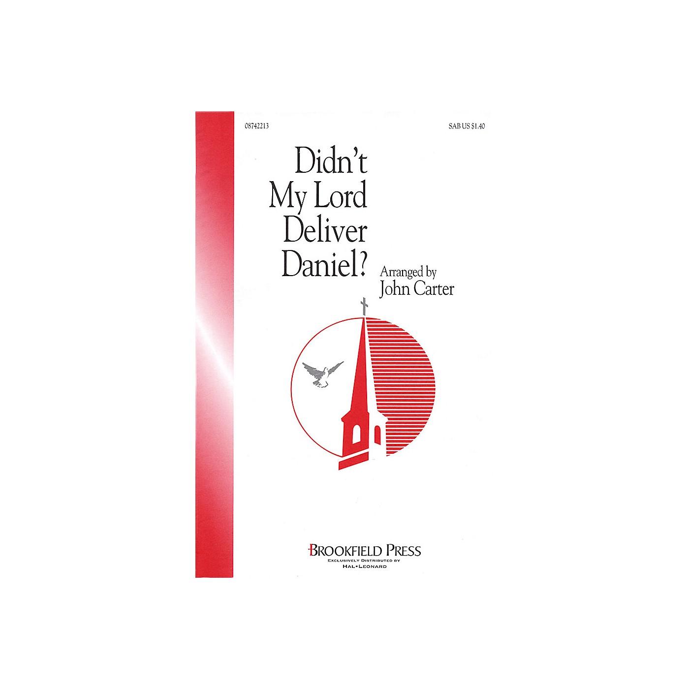 Hal Leonard Didn't My Lord Deliver Daniel? SAB arranged by John Carter thumbnail
