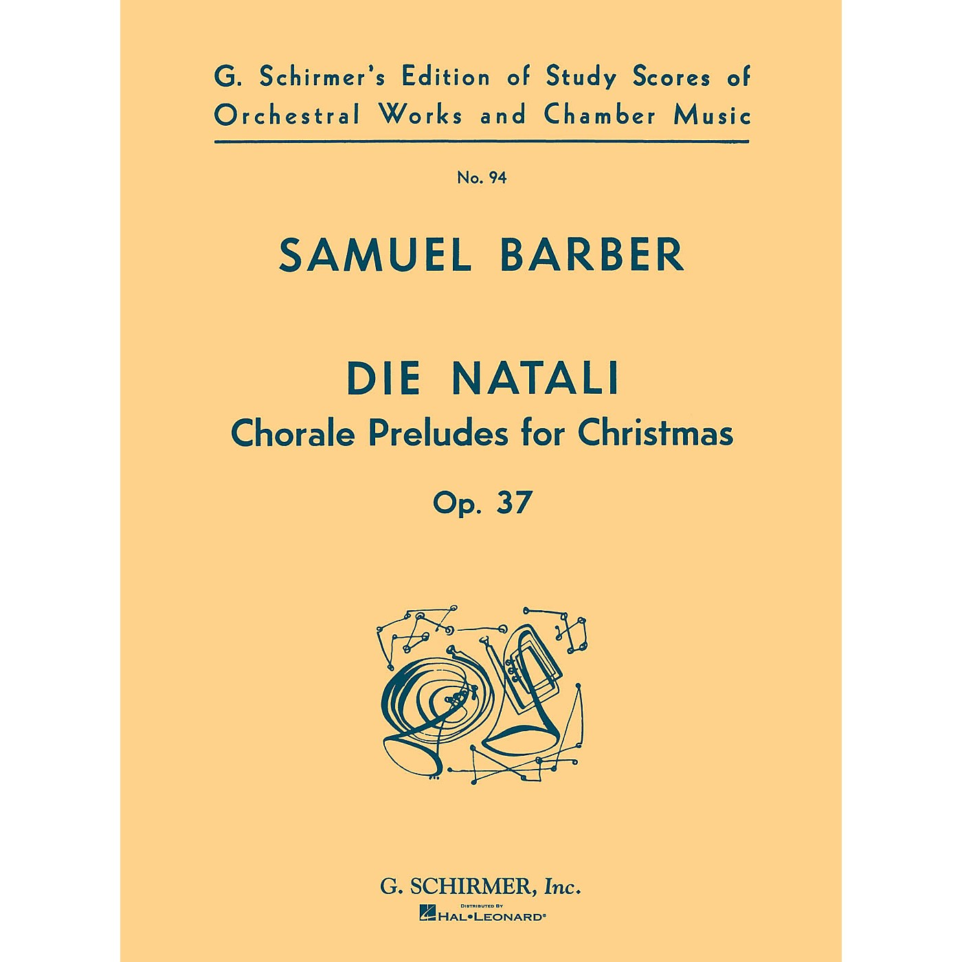 G. Schirmer Die Natali, Op. 37 (Study Score No. 94) Study Score Series Composed by Samuel Barber thumbnail