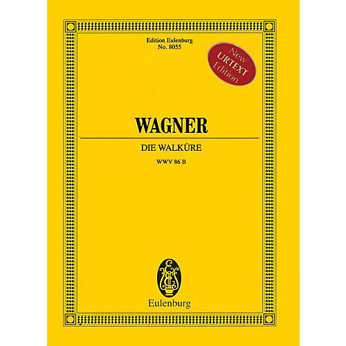 Eulenburg Die Walküre (Study Score) Misc Series Hardcover Composed by Richard Wagner Edited by Christa Jost thumbnail