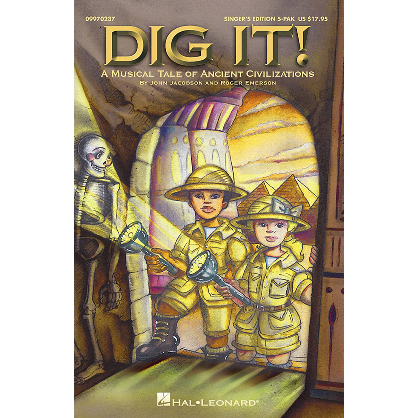 Hal Leonard Dig It!  A Musical Tale of Ancient Civilizations (Musical) Singer's Edition 5-Pak thumbnail