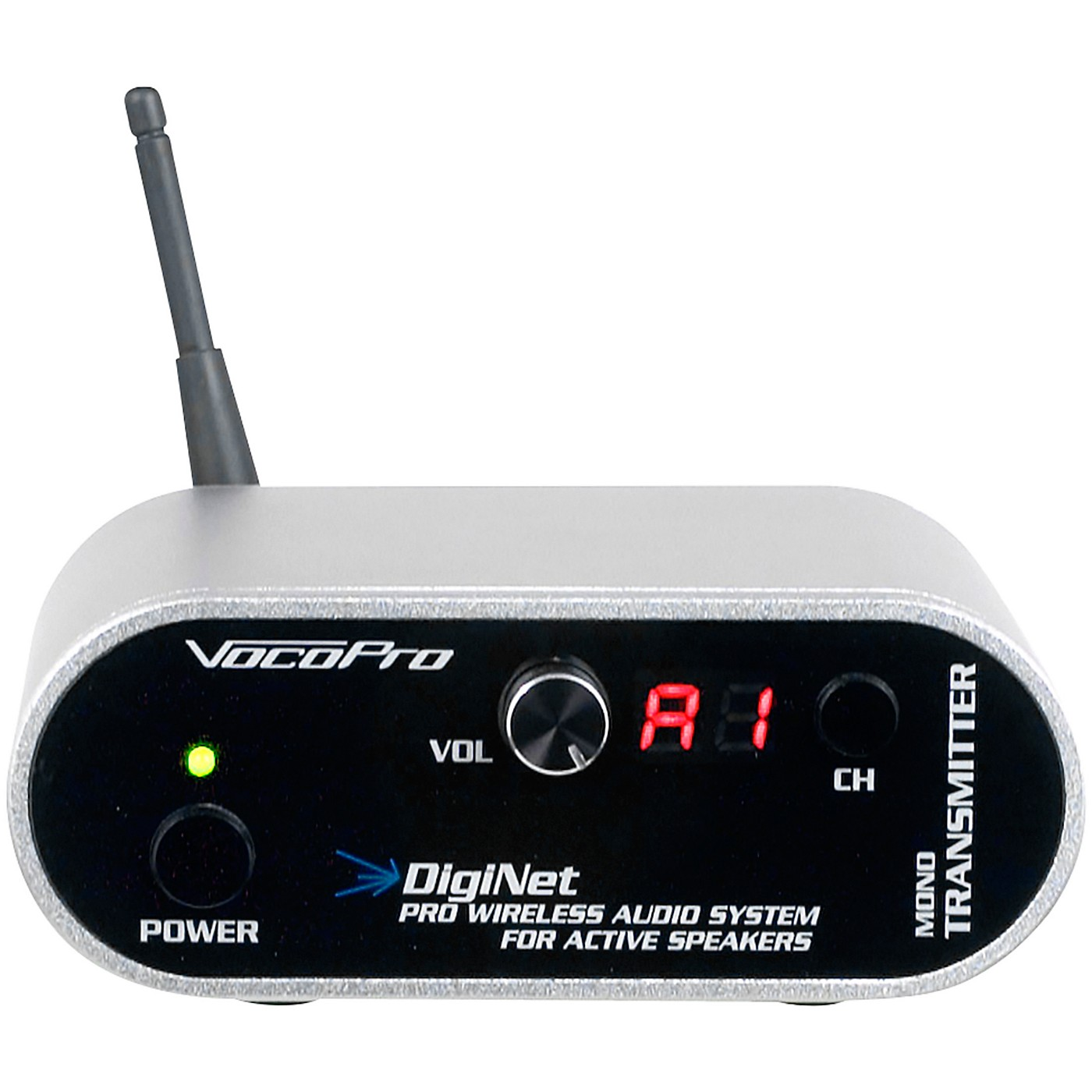 Vocopro DigiNet-MT Mono Transmitter/Range extender for DigiNet Professional Wireless Audio System thumbnail