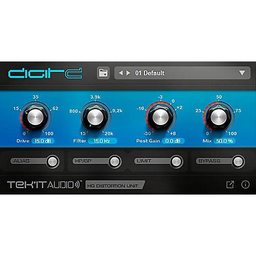 Tek'it Audio DigitD High Quality Overdrive Distortion (Download) thumbnail