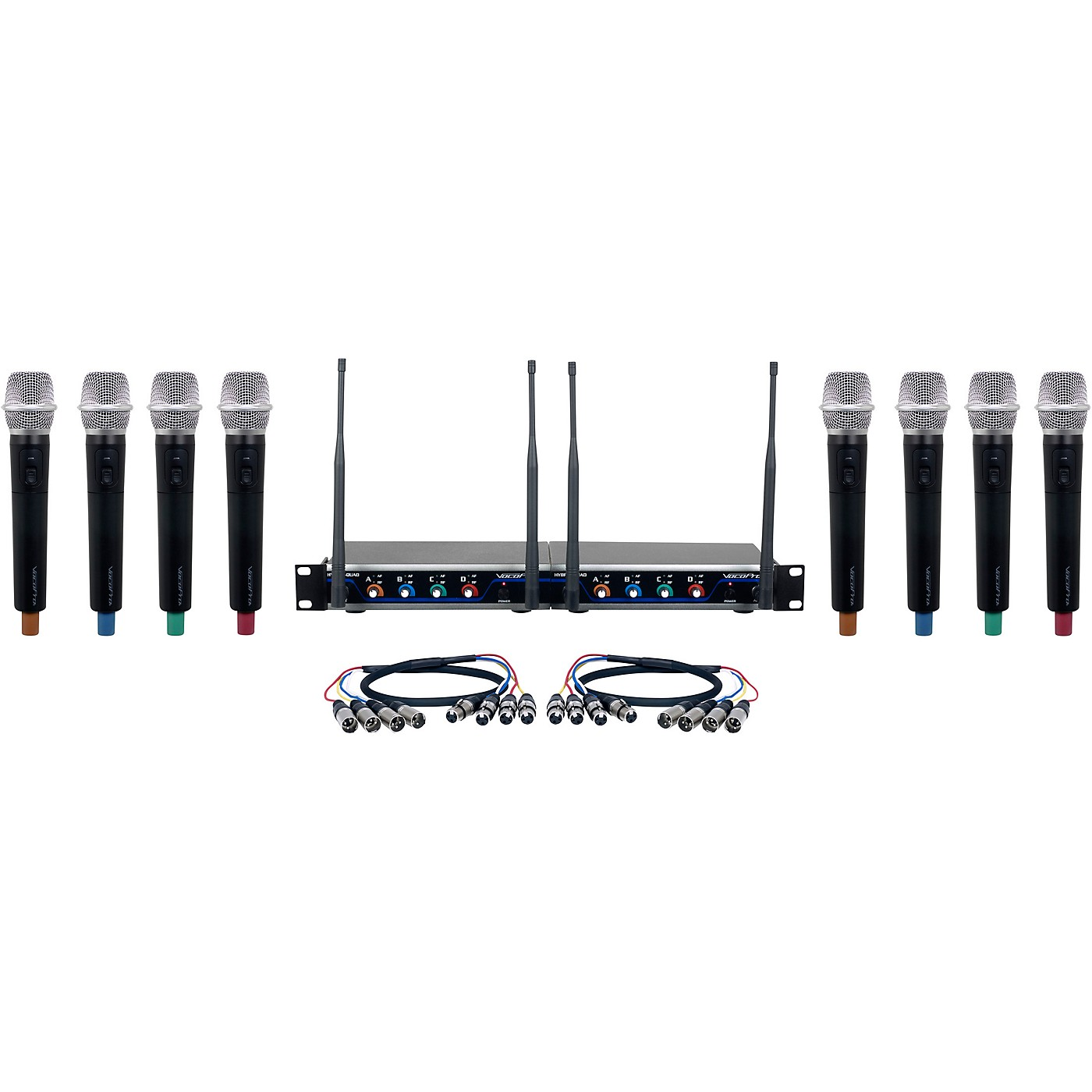 Vocopro Digital-Acapella-8 8-Channel UHF Wireless Handheld Microphone System thumbnail