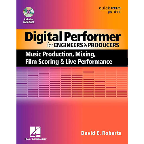 Hal Leonard Digital Performer For Engineers & Producers Book/DVD-ROM-thumbnail