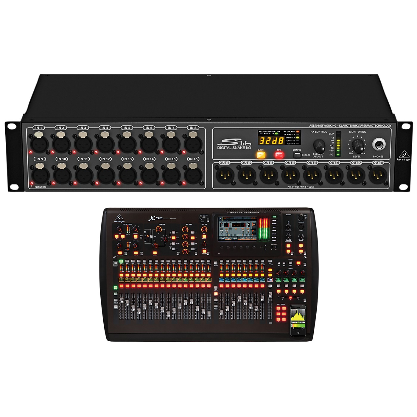 Behringer Digital Snake and Mixer Package thumbnail