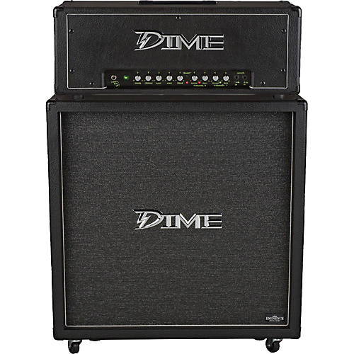 Dime Amplification Dime D100 Head and D412 Cab Half Stack thumbnail